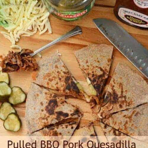 BBQ Pork Quesadillas
