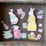 Rabbit Paper Dolls – giveaway