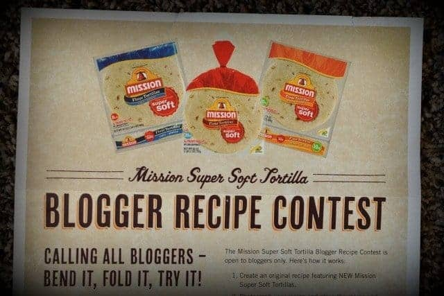 blogger recipe contest