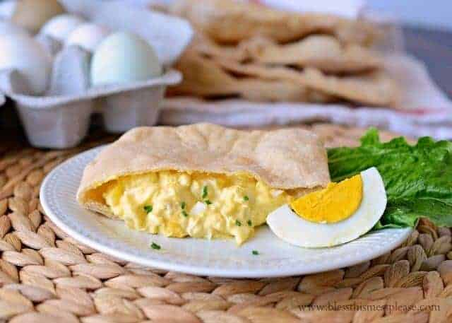pita bread with egg salad, Homemade pita bread with words, wheat pita bread recipe, whole wheat pita bread, how to make pitas at home, King Arthur Flour pita bread recipe