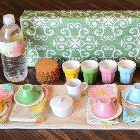 DIY Travel Tea Set