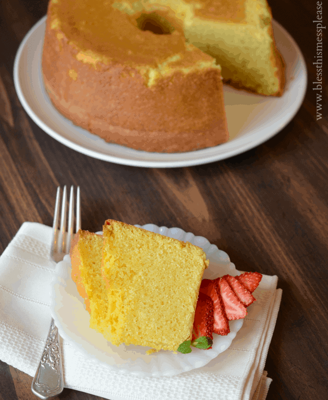 America S Test Kitchen Pound Cake