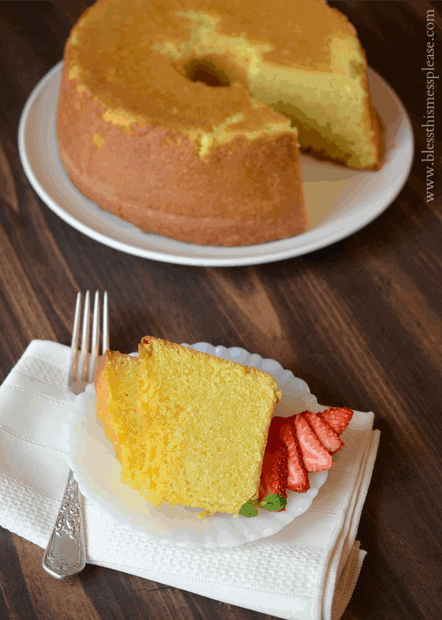 Perfect Pound Cake Bless This Mess