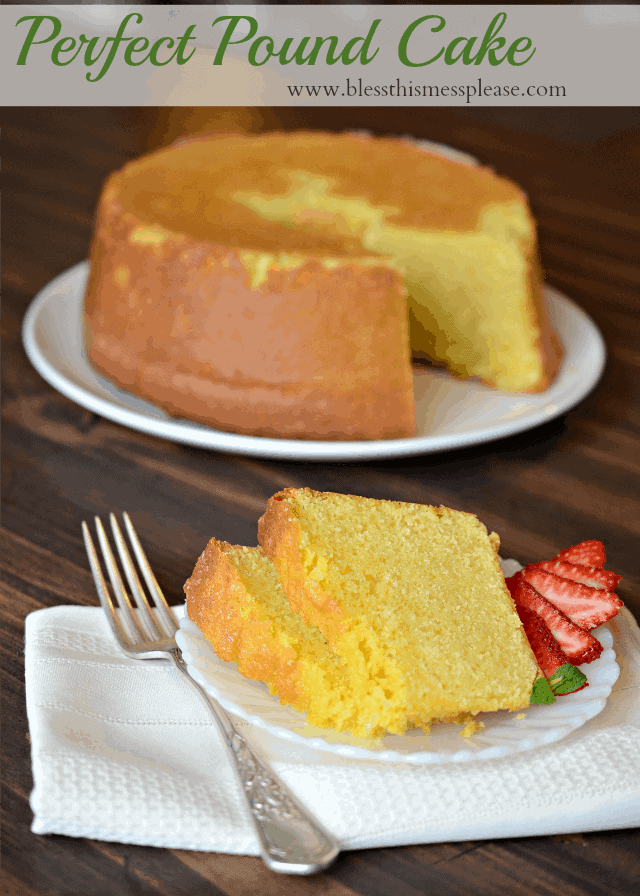 pound cake, cold oven pound cake, America's Test Kitchen pound cake ...