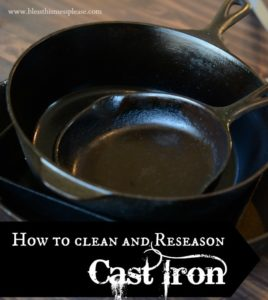 How to Clean & Re-Season a Cast Iron Skillet | Cast Iron Cookware Care