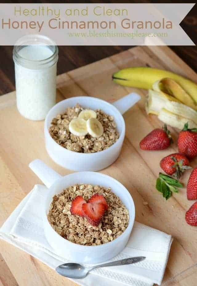clean granola recipe