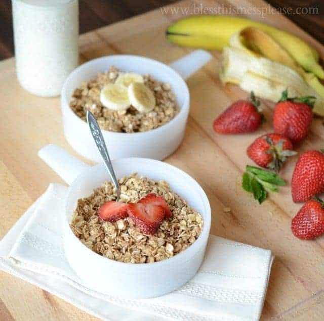 Image of Healthy Homemade Granola