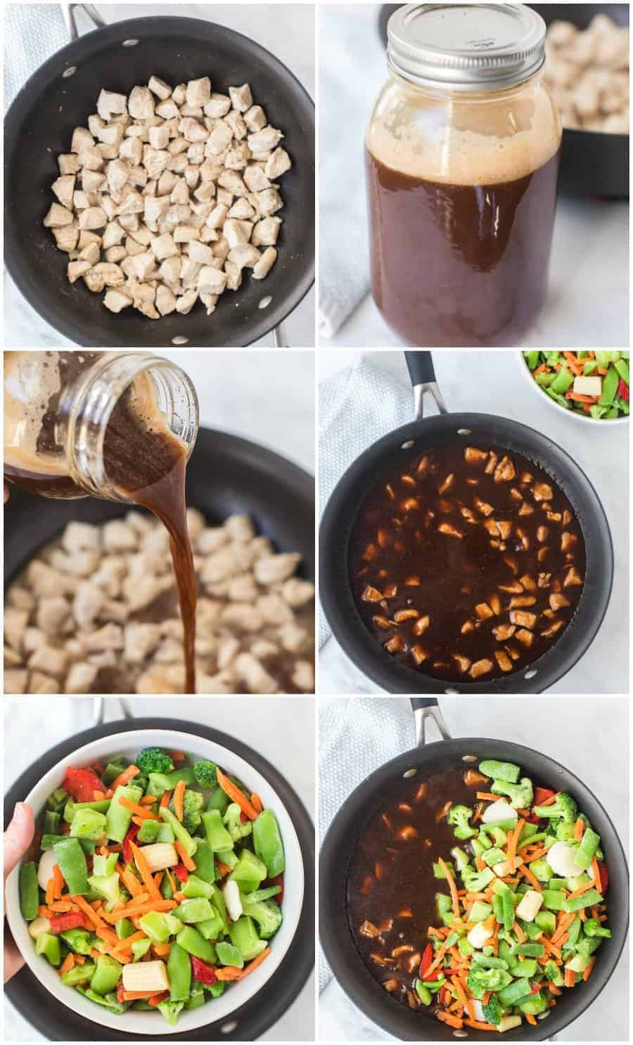 easy chicken stir fry how to collage