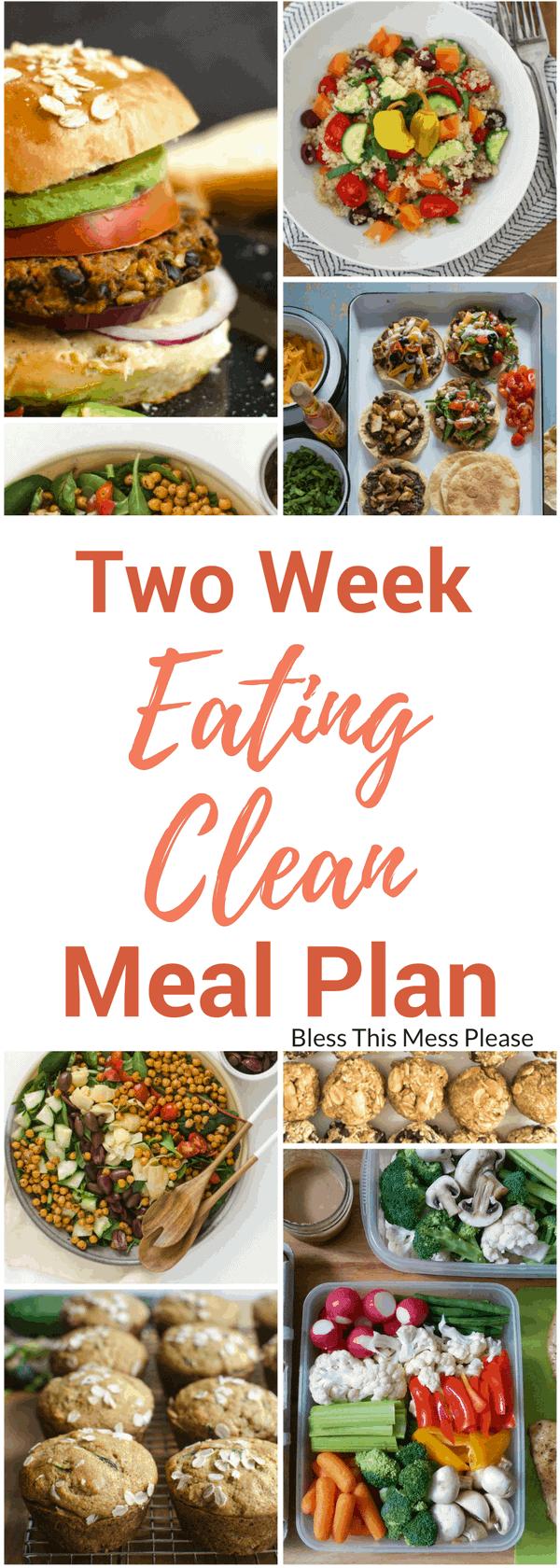 Eating Clean Meal Plan