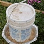 DIY chicken water and feeder from 5-gallon buckets