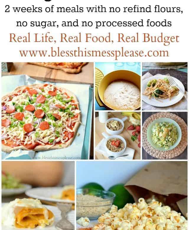 Eating Clean Meal Plan: Spring/Summer Menu