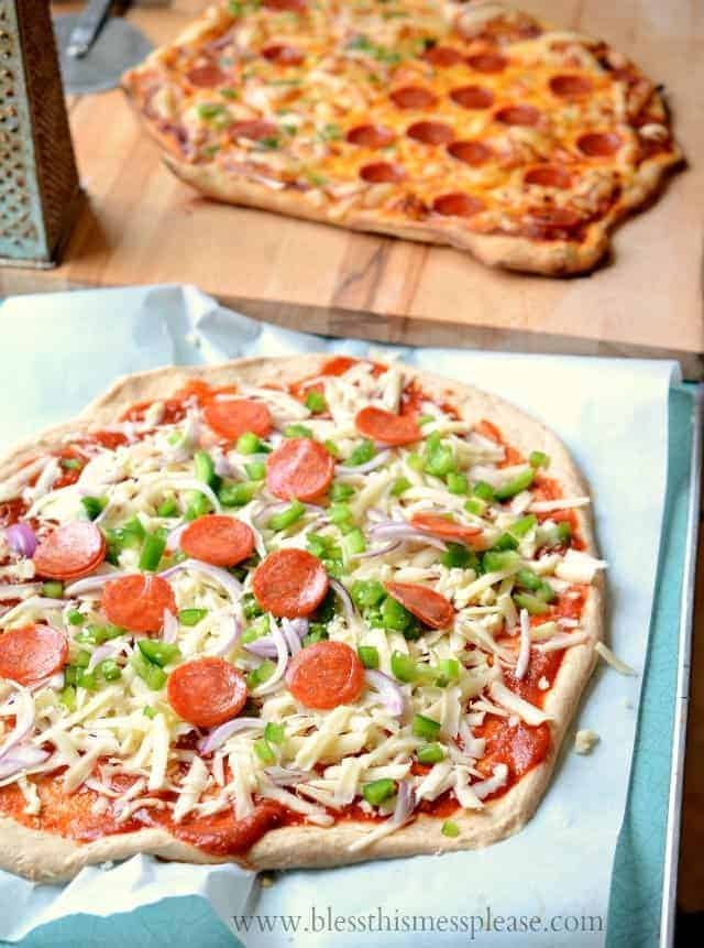 100% Whole Wheat Pizza Crust recipe and the secrets to baking ...
