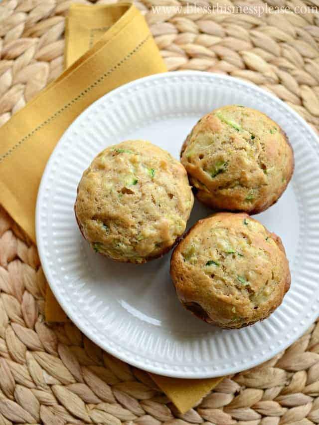 Image of Pineapple Zucchini Muffins