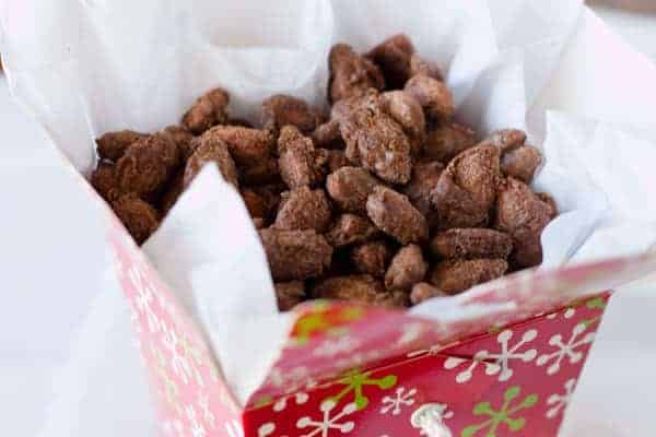 Cinnamon Roasted Almonds from Barbara Bakes