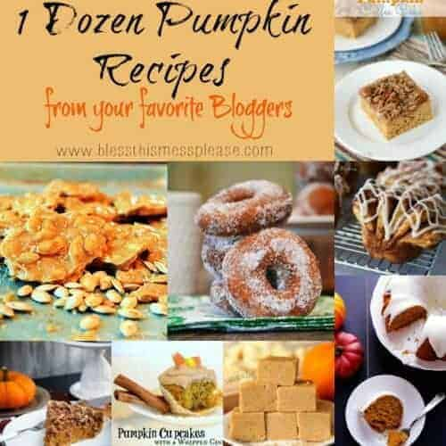 One Dozen Amazing Pumpkin Recipes