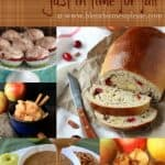 Title Image for 10 Apple Recipes Just in Time for Fall with examples of 5 apple recipes