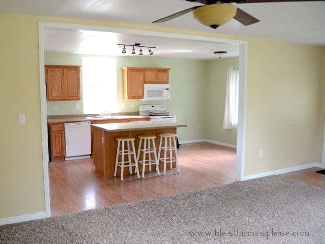 kitchen, open floor plans