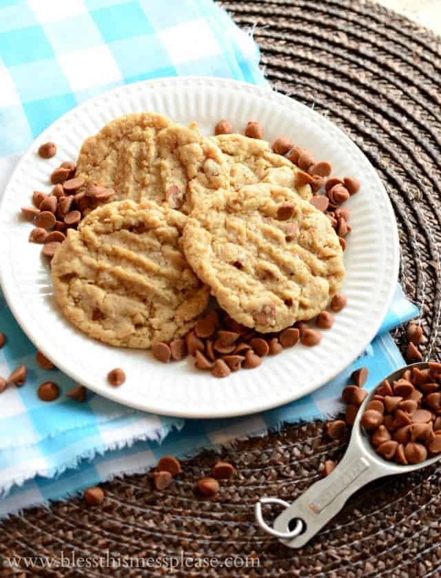 Oatmeal Cookies with Cinnamon Chips are soft with just a little crisp around the edges and those cinnamon chips are delicious. Tried, true, and perfect!