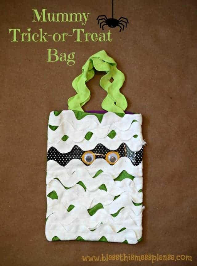 mummy bag for ribbon retreat