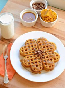 Easy Homemade Pumpkin Waffles Recipe