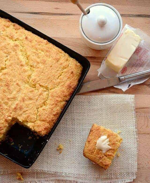 Sweet and Creamy Cornbread