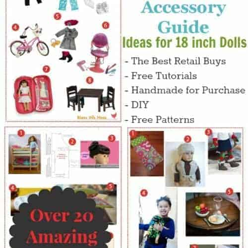 The Ultimate American Girl Acessory Guide: Buy it, Make it, Love it