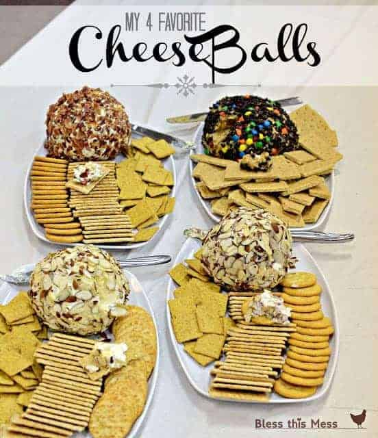 best holiday cheese ball recipes bacon, beef, ranch, cheddar, pineapple, cookie dough