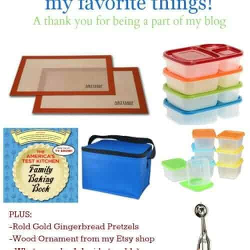 Favorite Things Giveaway