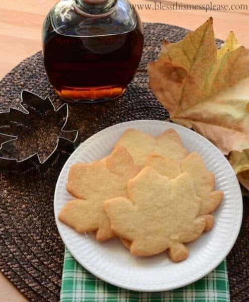 Image of maple sugar cookies