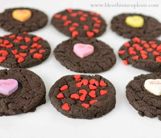 Rich Dark Chocolate Valentine Cookies + A Chocolate Lover's Giveaway from King Arthur Flour