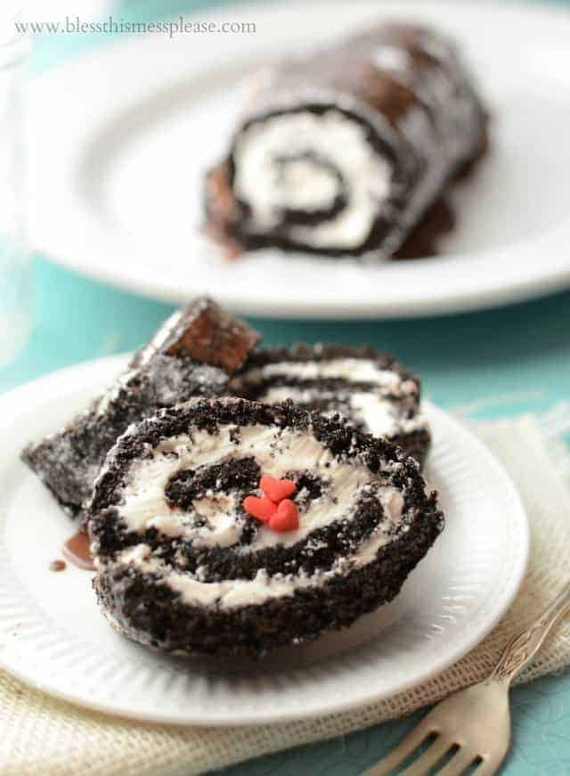 Rich Dark Chocolate Cream Cake Roll + A Chocolate Lover's Giveaway from King Arthur Flour
