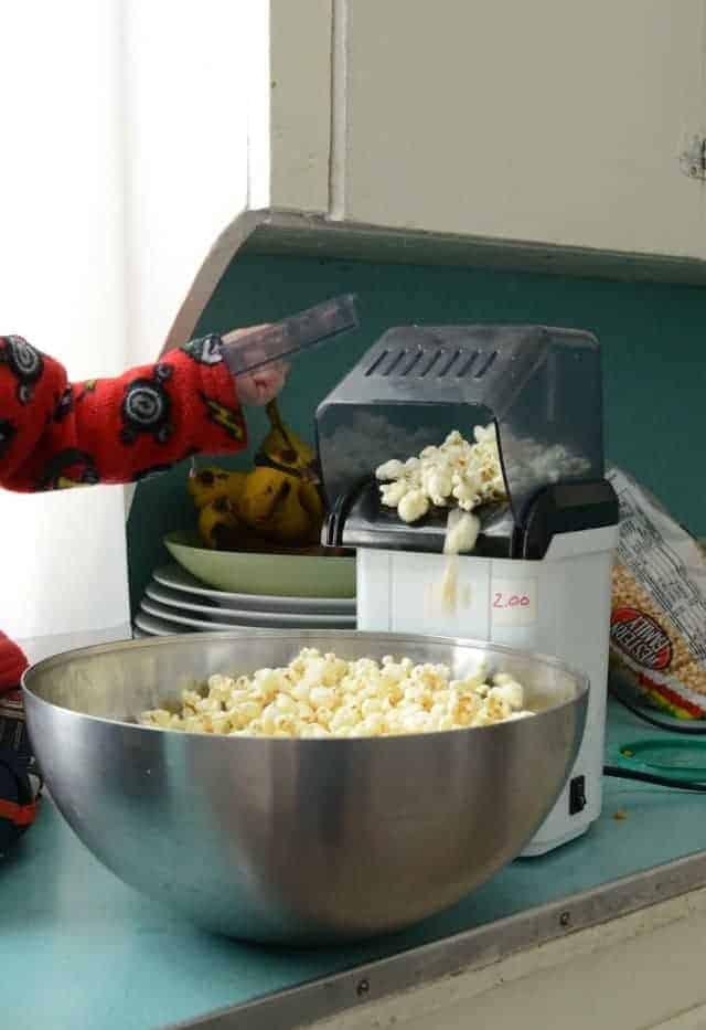 WIAW popcorn