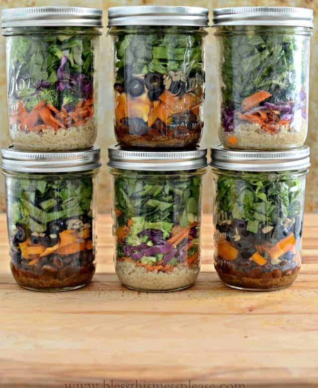 Salad in a Jar – How to