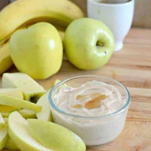 3 Ingredient Healthy Fruit Dip