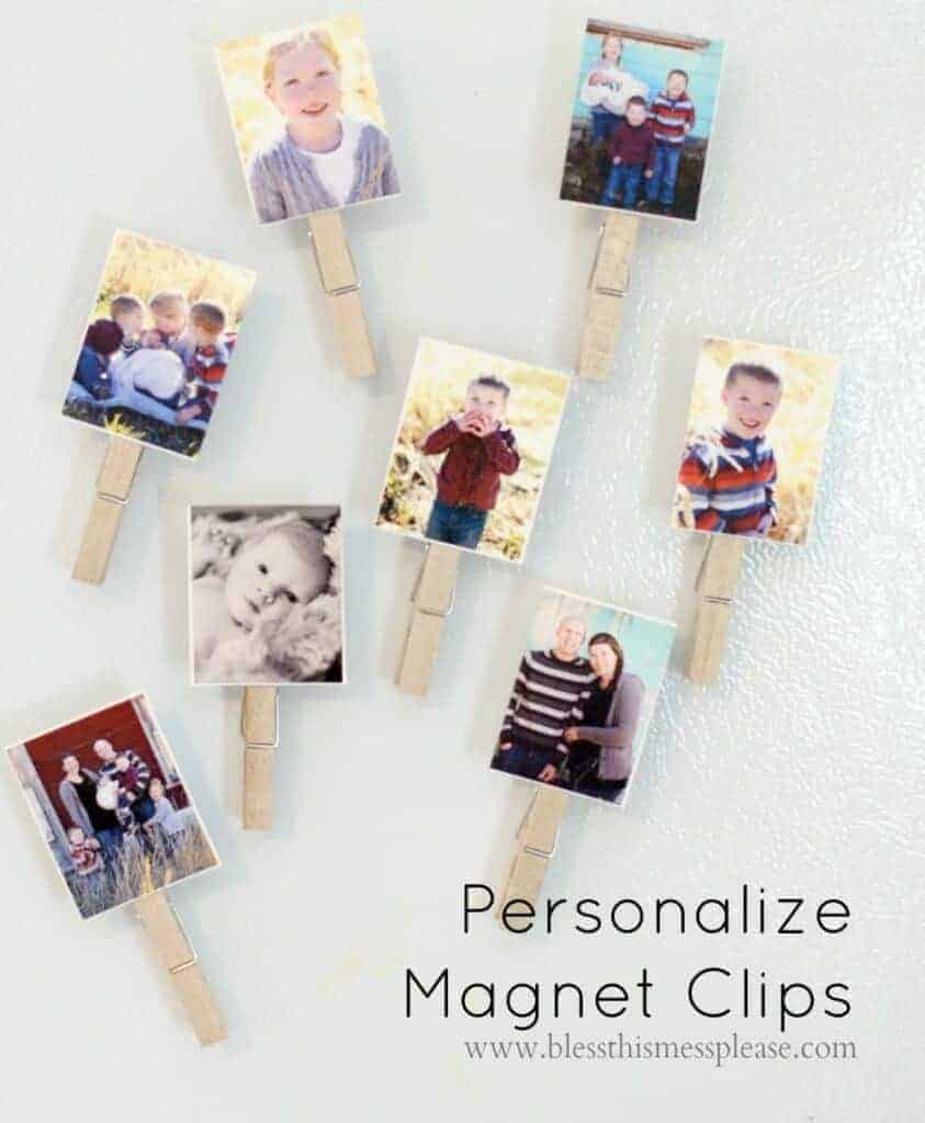 Personalized Magnet Clips and DIY Puzzels