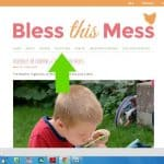 Saving and Printing Recipes from Bless this Mess with Ziplist