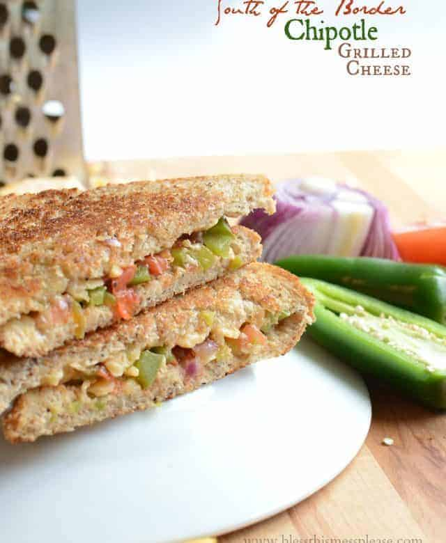 South of the Border Chipotle Grilled Cheese Sandwich