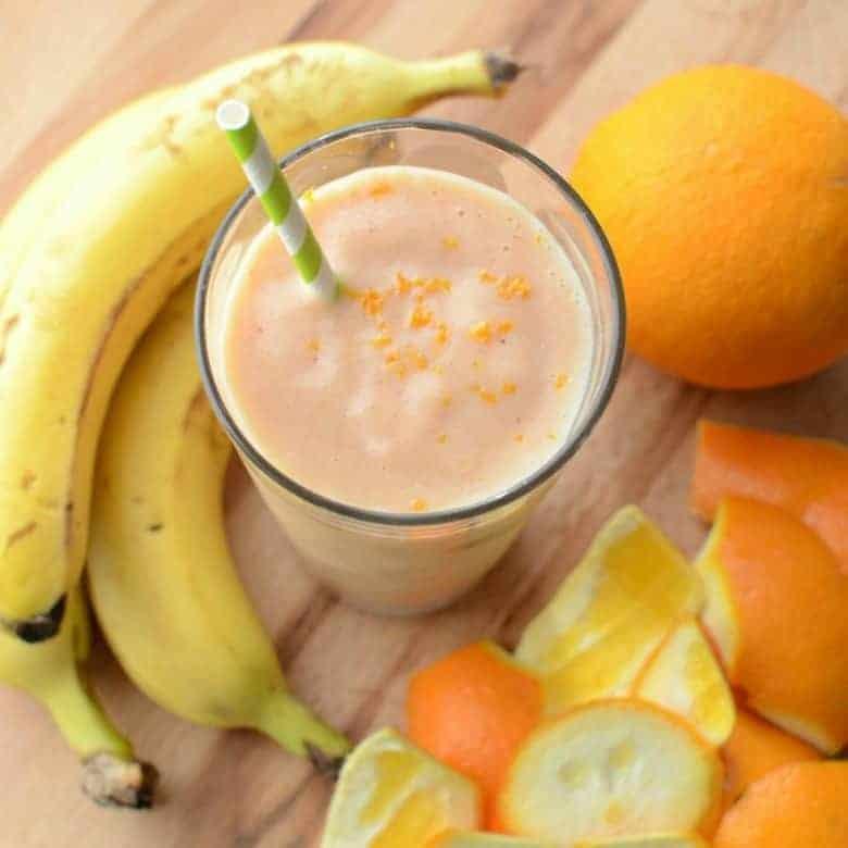 Healthy Orange Julius Copycat (dairy free)