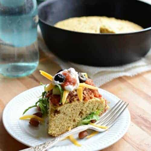 Healthy Whole Grain Tamale Pie