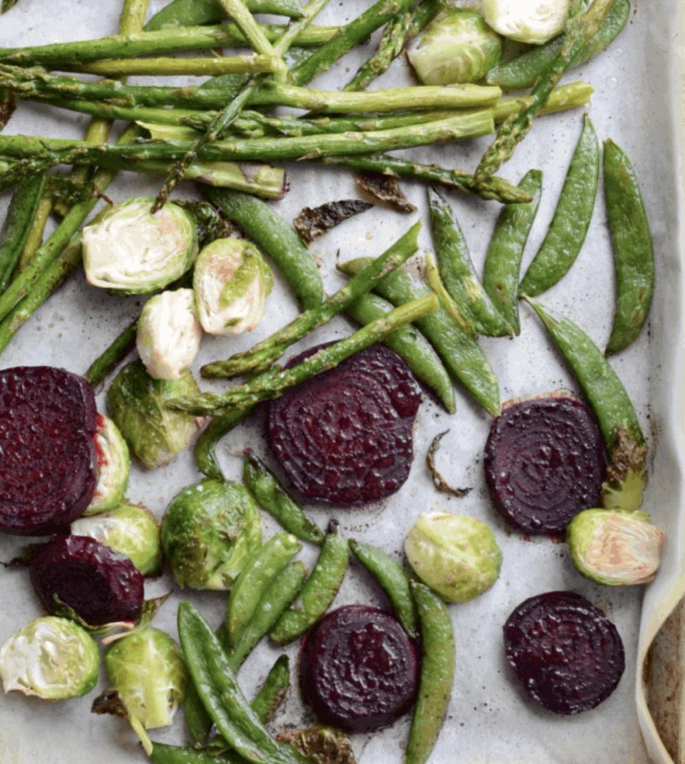Image of Roasted Spring Vegetables