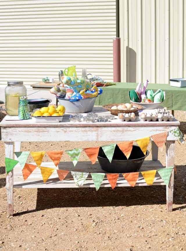 Farmer's Market Fun: My very first booth!