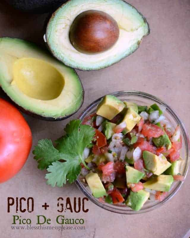 Pico + Guac = Pico de Guaco  The BEST salsa out there