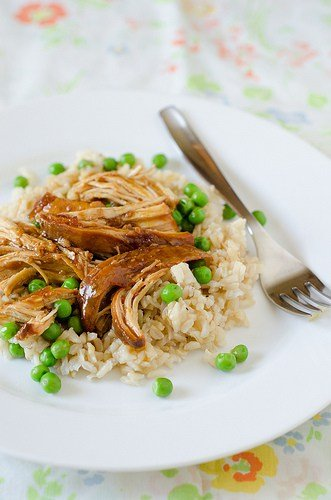 14 Recipes using Sweet Spring Peas Easy Apricot Sesame Crock Pot Chicken