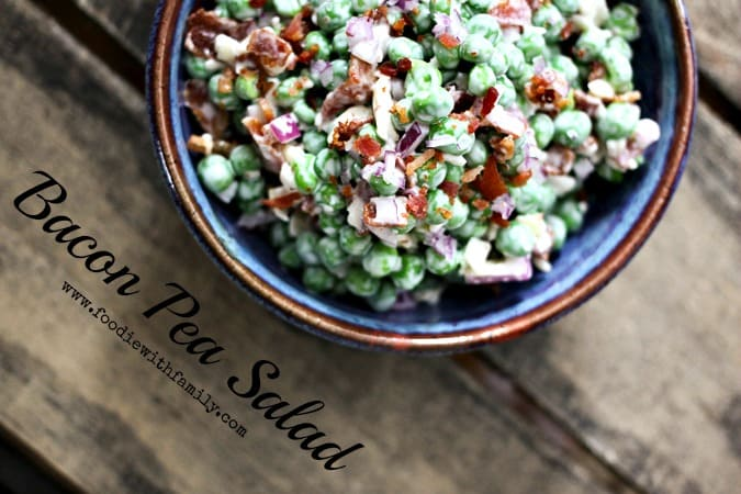 14 Recipes using Sweet Spring Peas Easy Bacon Pea Salad