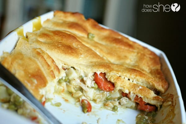 14 Recipes using Sweet Spring Peas Easy Peasy Chicken Pot Pie