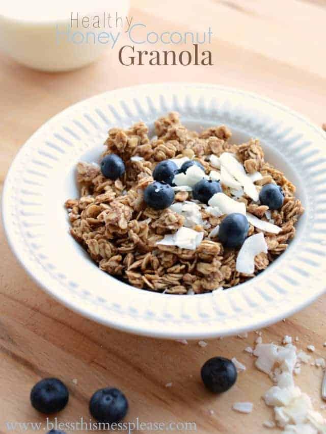 Coconut Granola Recipe — Dishmaps