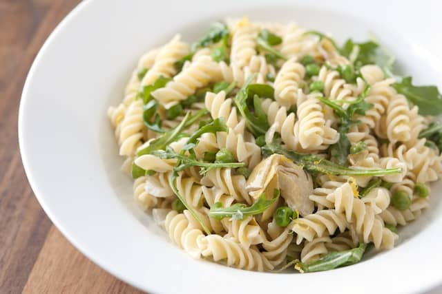 14 Recipes using Sweet Spring Peas Lemony Artichoke And Pea Pasta