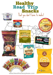 Healthy Road Trip Snacks that you don't have to make yourself!