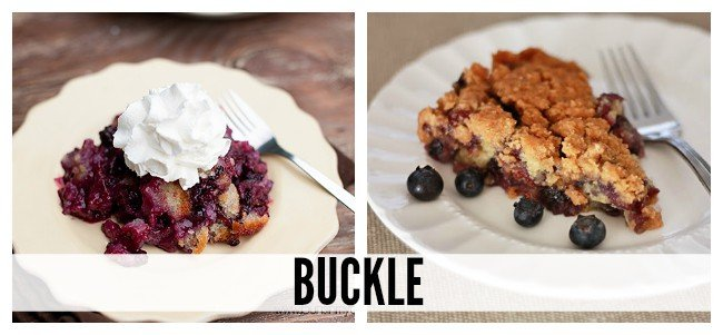 Summer Fruit Desserts Explained - the difference between cobblers, crisps, grunts, buckles, and more!