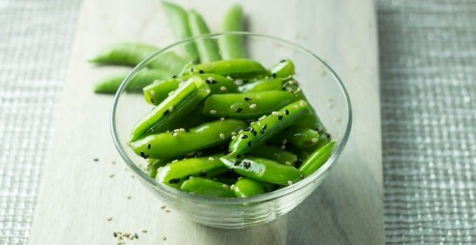 14 Recipes using Sweet Spring Peas seasame-snap-peas-